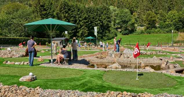 Adventure Golf in Simonskall